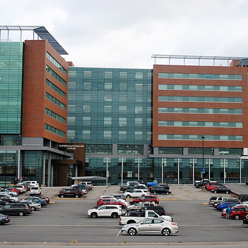 WVU Ruby Memorial Hospital Southeast Bed Tower